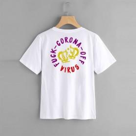 screamers camiseta blanca