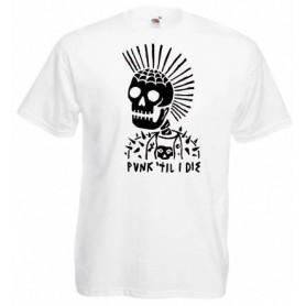 vegan edge camiseta blanca