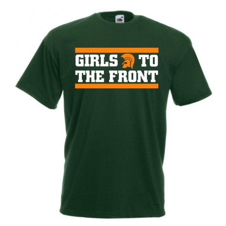 Girls to the front