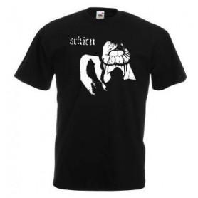rash camiseta negra