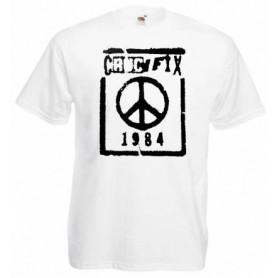 smash fascism camiseta negra