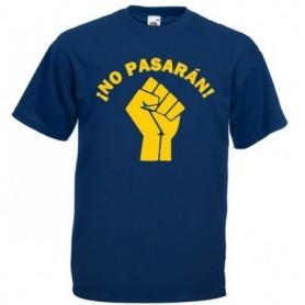 anti fascist camiseta negra