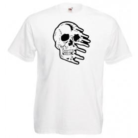 SUBVERSION X a pie de asfalto camiseta gris jaspeado chico