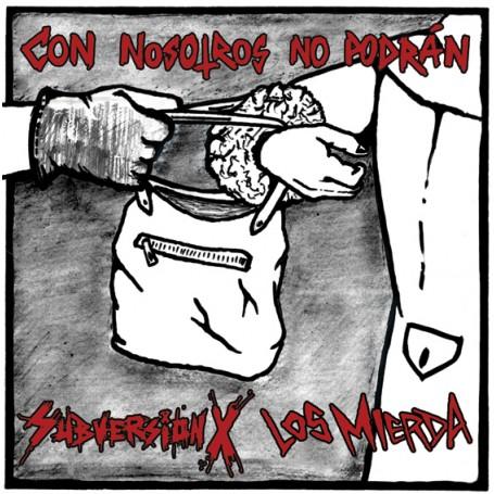 SUBVERSION X - LOS MIERDA con nosotros no podrán LP