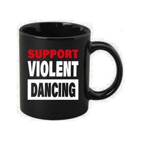 support violent dancing taza
