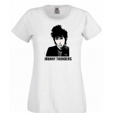 Johnny thunders camiseta chica REBAJADA