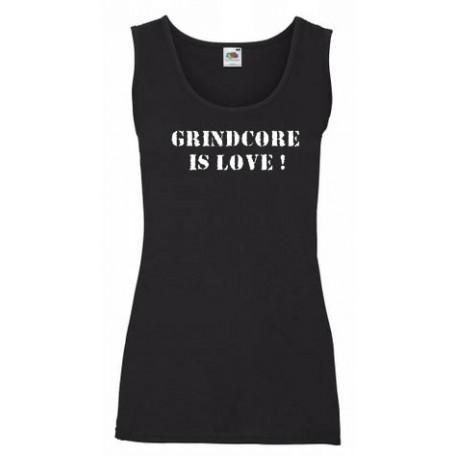 Grindcore is love camiseta chica REBAJADA