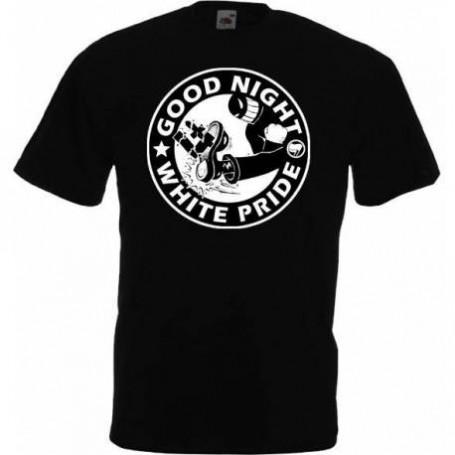 Good night white pride camiseta chica REBAJADA