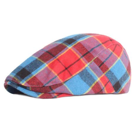 gorra tartan