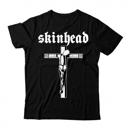 Skinhead crucificado