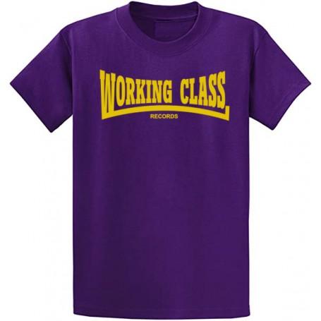 WORKING CLASS camiseta morada