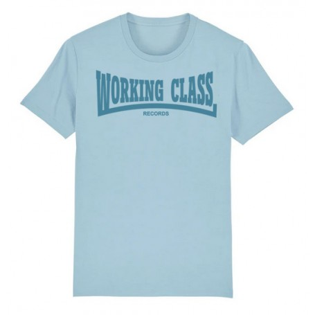 WORKING CLASS camiseta azul cielo