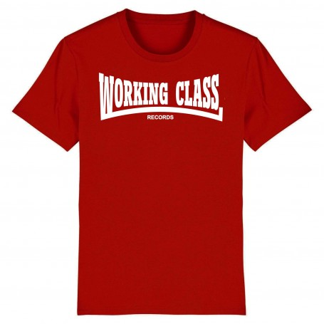 WORKING CLASS camiseta rojo teja