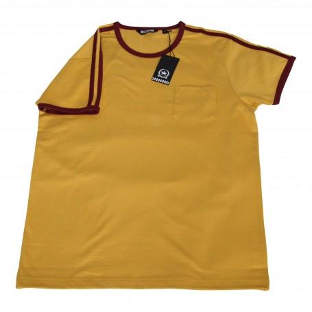 camiseta retro mod amarillo