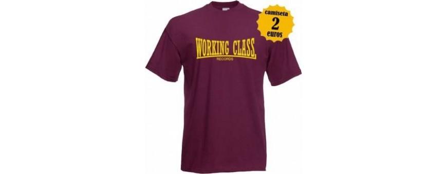 Camisetas Chica working class