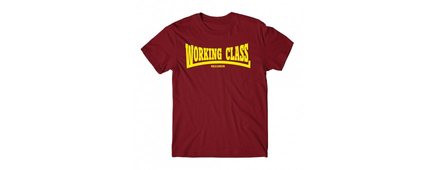 Camisetas Chico working class