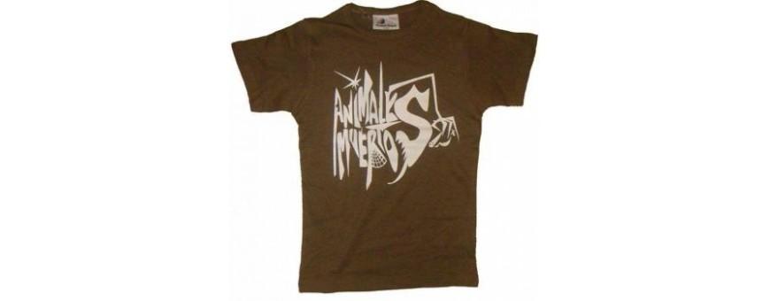 Animales muertos camiseta chica