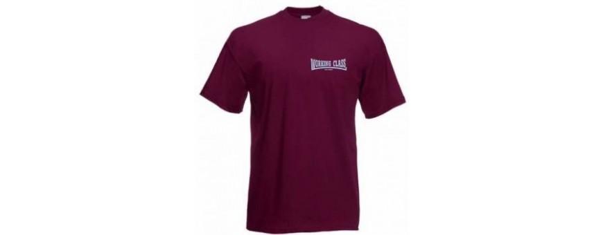 camiseta bordada chico working class
