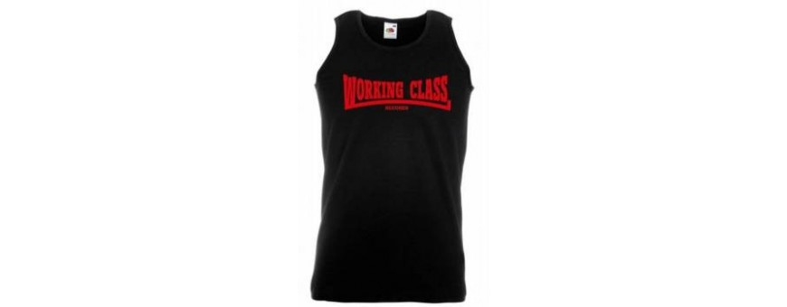 camiseta chico tirantes working class